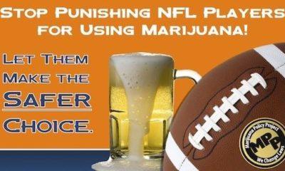 Petition Calls to Stop Punishing NFL Players for Marijuana