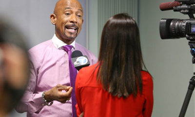Montel Williams Rallies for Medical Marijuana at CWCBE