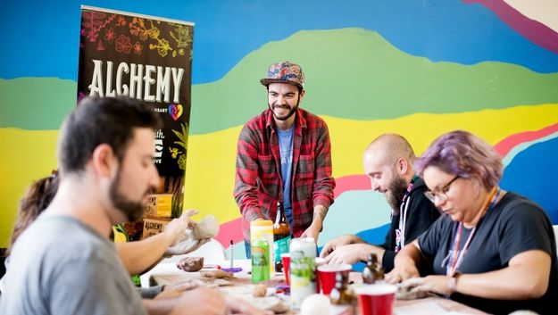 Art classes with a twist – Puff Pass & Paint comes to Oakland